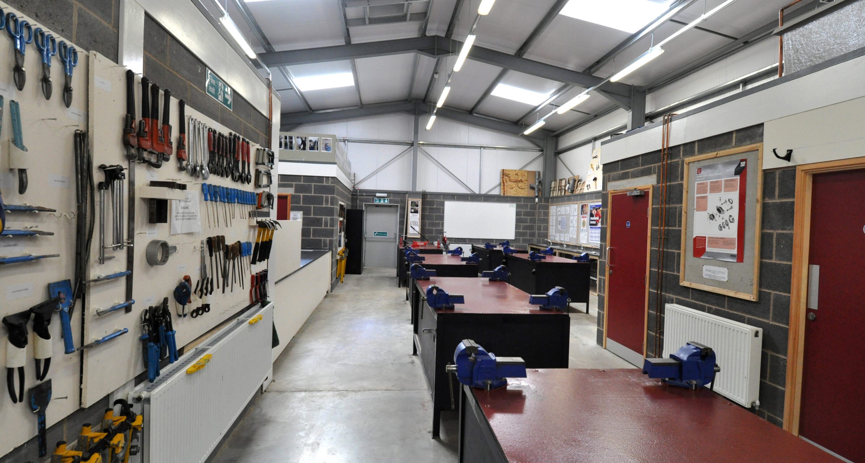 Plumbing Workshop at Higham Campus