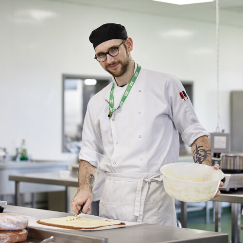 Jack Matcham - Food and drink student