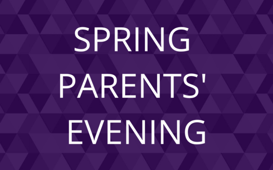 SPRING PARENTS EVENING