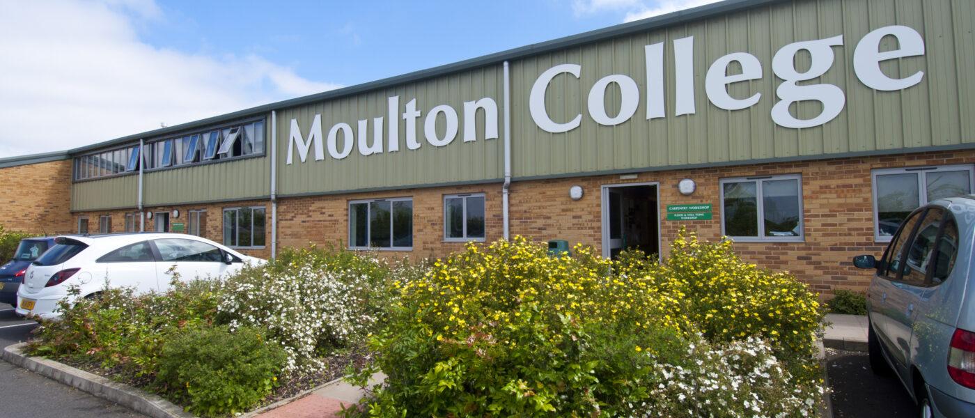 Exterior of Moulton College Higham Campus