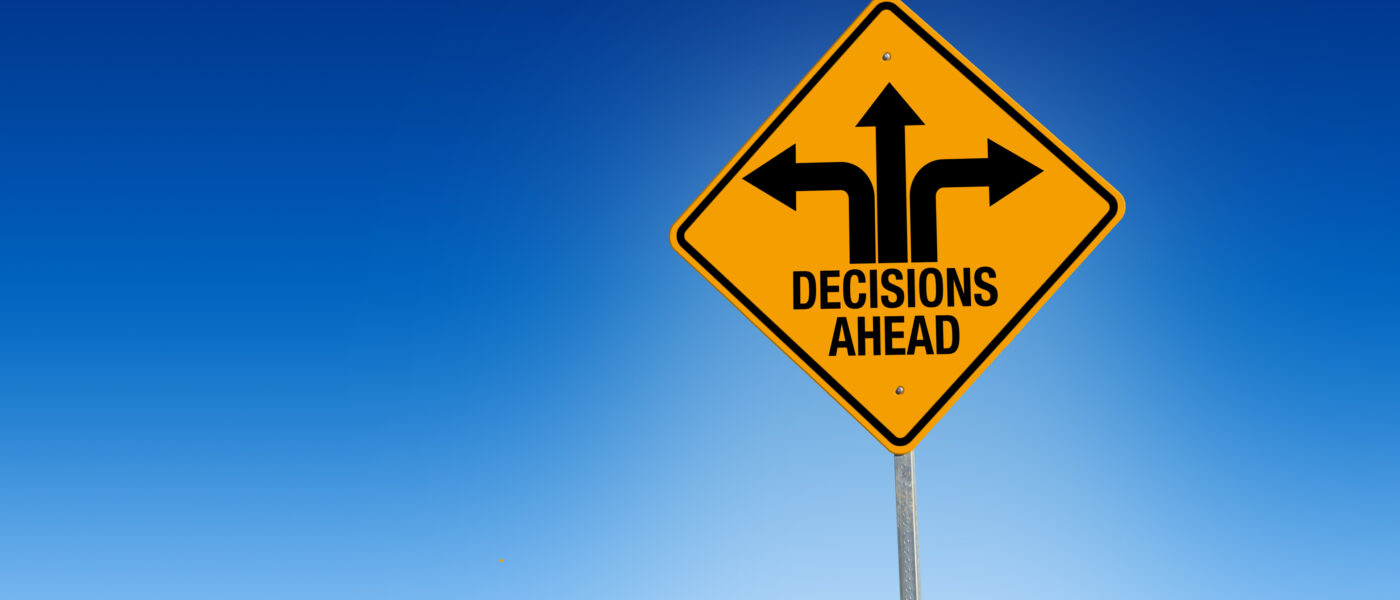 Decisions signpost