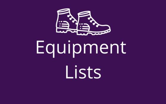 Equipment Lists