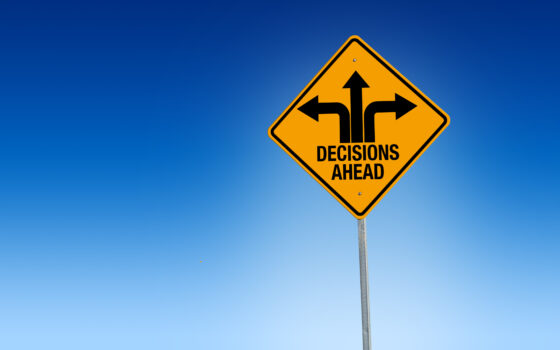 Decisions signpost