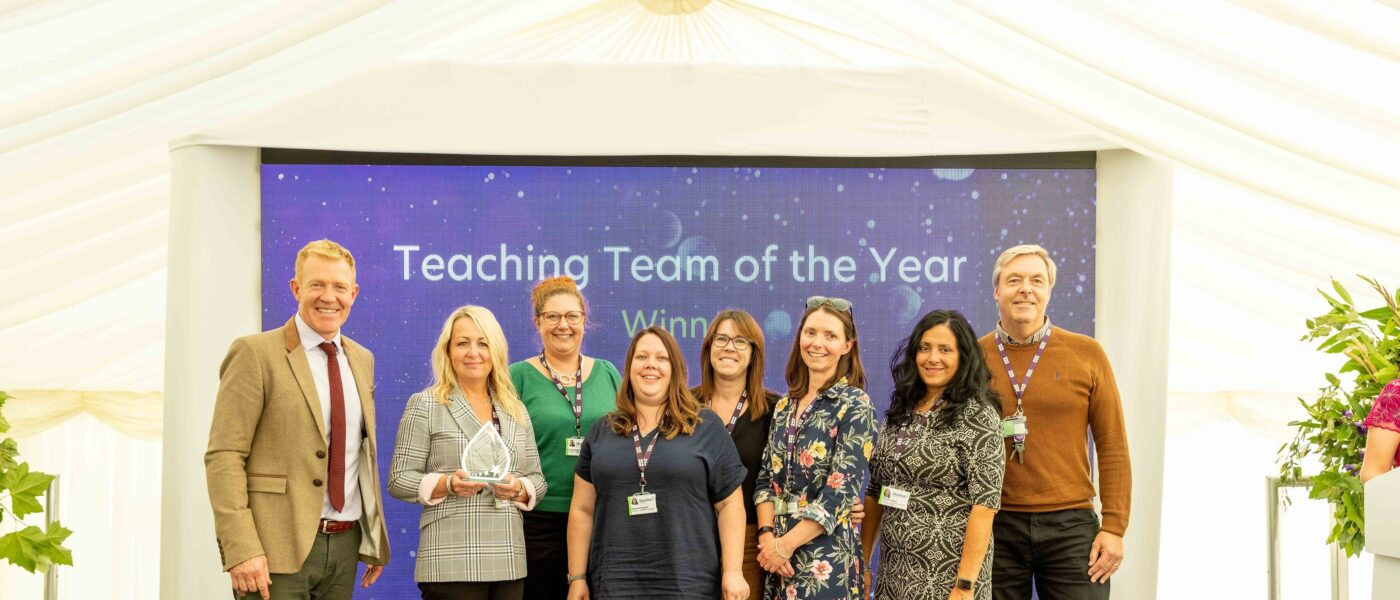 Supported Learning Team Award Winners