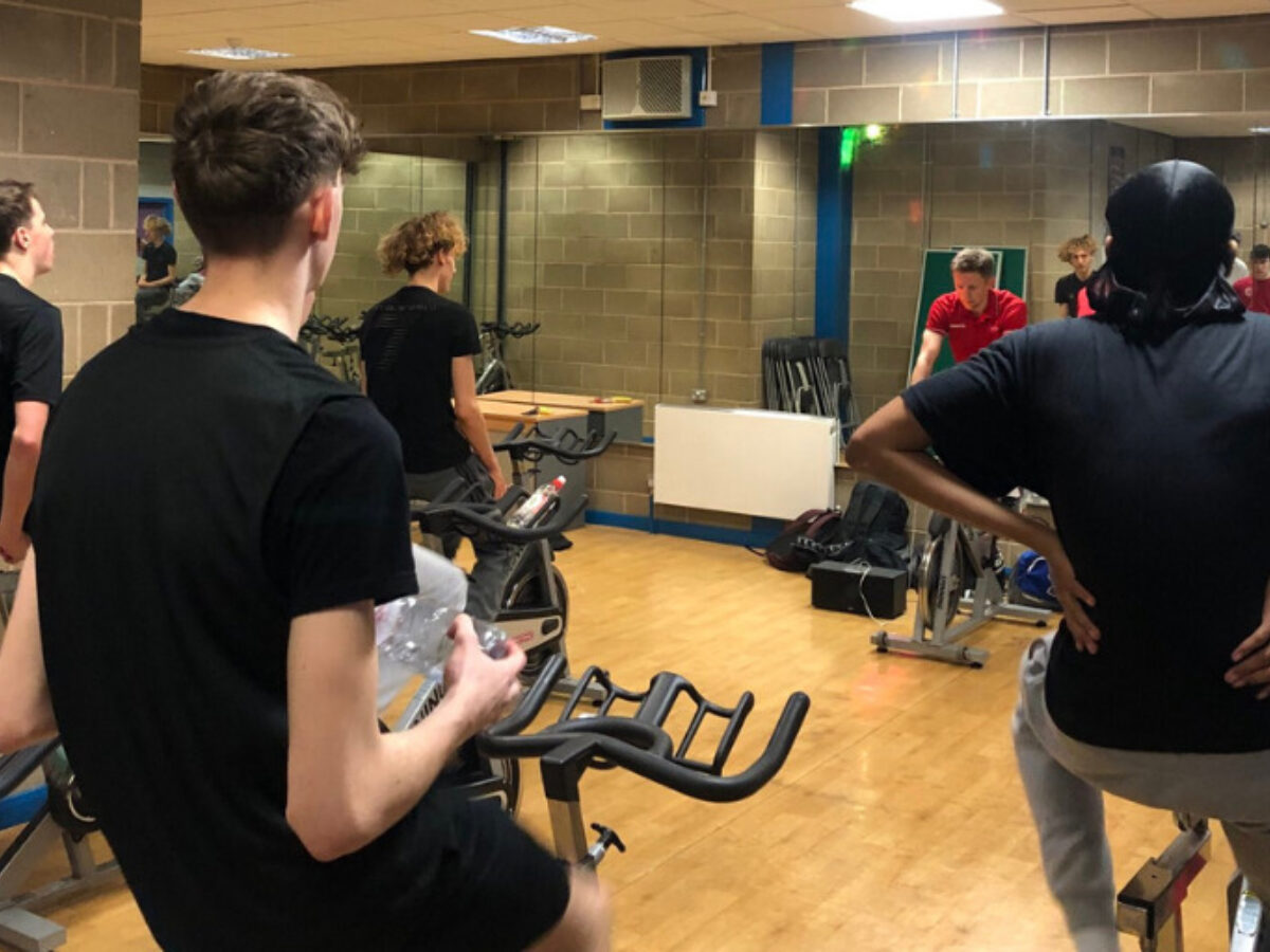 Basketball Academy Spin Session