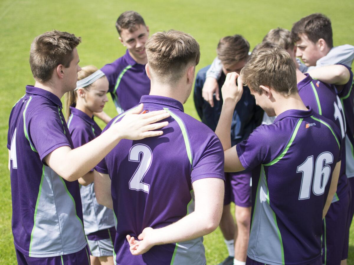 Football Academy Match Huddle