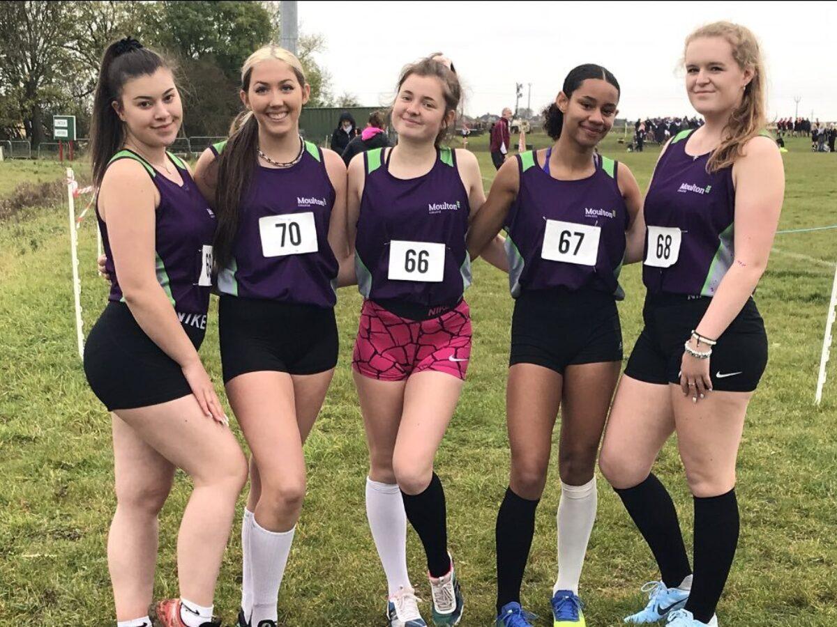 Cross country girls team