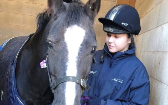 Charlotte - equine student profile